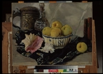 Lanceray (Lansere), Evgeny Evgenyevich - Still life. Shell and apples