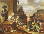 Master of Beguines - Peasants at a Well