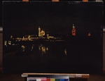 Levitan, Isaak Ilyich - Illumination of the Moscow Kremlin