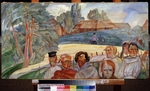 Grigoriev, Boris Dmitryevich - Russia (From the Cycle Les visages de Russie)