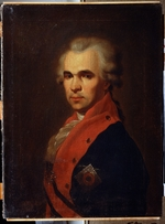 Drozhdin, Petro Semyonovich - Portrait of the Secretary of State Vasily Popov