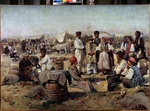 Makovsky, Vladimir Yegorovich - The fair in Poltava