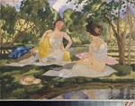 Somov, Konstantin Andreyevich - On The Grass