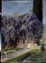 Alisov, Mikhail Alexandrovich - A house entwined with wisteria
