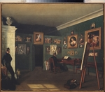 Zelentsov, Kapiton Alexeyevich - The Painter's Studio