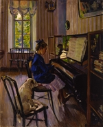 Vinogradov, Sergei Arsenyevich - At the piano