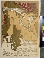 Mucha, Alfons Marie - Poster for the XXth Exposition in the Salon des Cent