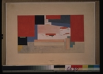 Malevich, Kasimir Severinovich - Suprematism. Sketch for a theatre curtain