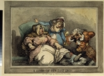 Rowlandson, Thomas - A bawd on her last legs