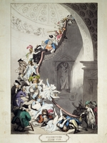 Rowlandson, Thomas - Exhibition Staircase