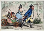 Gillray, James - A Family Promenade