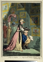 Gillray, James - A Peep at Christies