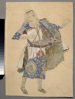Korovin, Konstantin Alexeyevich - Costume design for the opera Ruslan and Lyudmila by M. Glinka