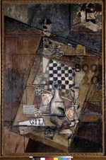 Marcoussis, Louis - Still life with a chessboard