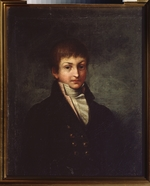 Russian master - Portrait of the Poet Konstantin Nikolayevich Batyushkov (1787-1855)