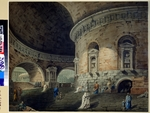 Corsini, Domenico - Stage design for a theatre play