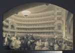 Premazzi, Ludwig (Luigi) - The Auditorium of the Saint Petersburg Imperial Bolshoi Kamenny Theatre