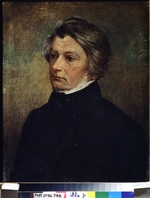 Chrucki, Ivan Phomich - Portrait of the poet Adam Mickiewicz (1798-1855)