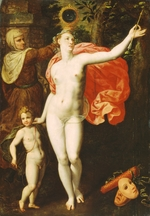 Backer, Jacob, de - Venus and Cupid (Allegory of the Truth)