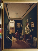 Russian master - The Painter's Studio