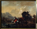 Berchem, Nicolaes (Claes) Pietersz, the Elder - A convoy
