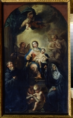 Trevisani, Francesco - Madonna and Child with Saints