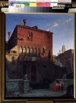 Gerhardt, Eduard - The House of Othello, the Moore in Venice