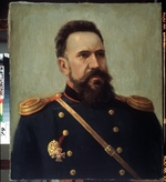 Gerets, Mikhail Petrovich - Portrait of the engineer Sergei I. Mosin (1849-1902), designer of the Mosin-Nagant rifle