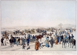 Anonymous - The ceremonious sledge journey on the 22nd January 1815 in Vienna