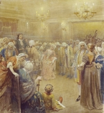 Lebedev, Klavdi Vasilyevich - The Assembly at the time of Peter I
