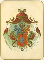 Anonymous - The coat of arms of the Freemasons Grand Lodge of Mecklenburg