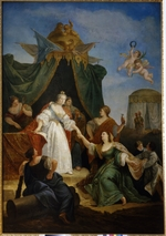 Fontebasso, Francesco - The Accession to the throne of Catherine II