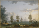 Hackert, Jacob Philipp - The Return of the Russian fleet after the naval Battle of Chesma