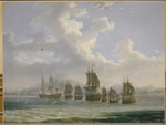 Hackert, Jacob Philipp - The Russian Fleet on the Hunt for Turkish Ships at the Bay of Egypt