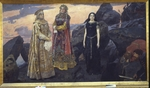 Vasnetsov, Viktor Mikhaylovich - Three queens of the underground kingdom