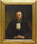 Ge, Nikolai Nikolayevich - Portrait of the Historian Nikolai I. Kostomarov (1817-1885)