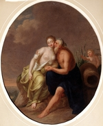 Tischbein, Johann Heinrich Wilhelm - River God and Nymph