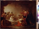 Zick, Johann Rosso Januarius - The Raising of Lazarus