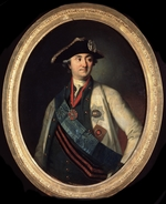 Christineck, Carl Ludwig Johann - Portrait of the commander-in-chief of the fleet Count Alexey Grigoryevich Orlov of Chesma (1737–1808)
