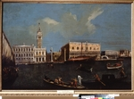 Canaletto, (Circle) - Grand Canal, Piazzetta and Doge's Palace in Venice