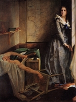 Baudry, Paul Jacques Aimé - Charlotte Corday after the murder of Marat