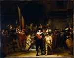 Rembrandt van Rhijn - The Night Watch (The Company of Frans Banning Cocq and Willem van Ruytenburch)