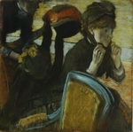 Degas, Edgar - At the Milliner's