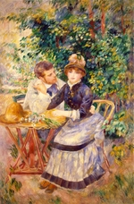 Renoir, Pierre Auguste - In the Garden