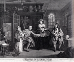 Hogarth, William - Series Marriage a la Mode (III)