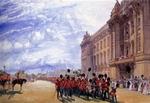 Simpson, William - The Return of the Guards from the Crimea, July 1856