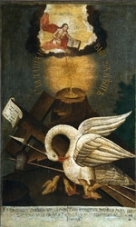 Russian icon - Pelican