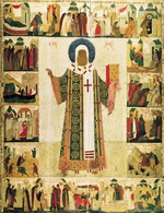 Dionysius - Saint Metropolitan Peter of Moscow with Scenes from His Life