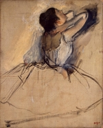 Degas, Edgar - Dancer