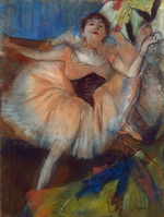 Degas, Edgar - Seated Dancer